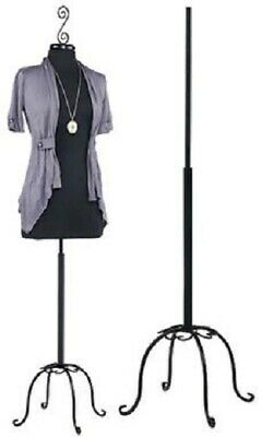 Womens Dressmaker Form Jersey Seamstress Dress Black Mannequin Female Stand