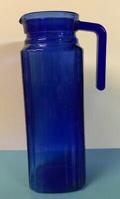 Cobalt Blue Pitcher - Square