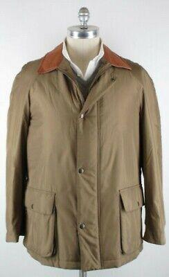 Imperfect Kiton Brown Jacket Size 38 (US) / 48 (EU)