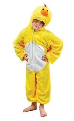 Kinder Plüsch Huhn Maskenkostüm Kinder Chick Alter 4 5 6 7 8 9 ()