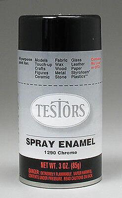 Testors Chrome 3oz Spray Can TES1290 1290