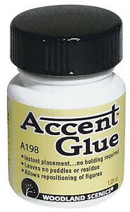 NEW-Woodland-Scenics-Accent-Glue-1-25-oz-A198-NIB