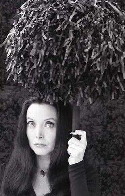 Original Addams Family Halloween (CAROLYN JONES ADDAMS FAMILY HALLOWEEN RARE ORIGINAL 1977 NBC TV PHOTO)