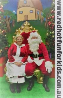 Corporate Events Santa Hire Brisbane Working with Children Blue C