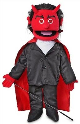 Silly Puppets Devil Full Body Glowing Eyes Puppet 25 inch