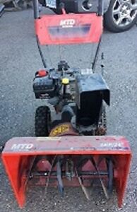 "Snowblower 8 hp 24"" electric start walk behind London Ontario image 1"