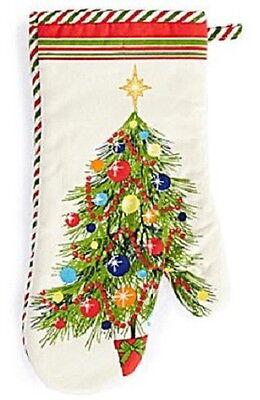 FIESTA HOLIDAY GATHERINGS CHRISTMAS TREE OVEN MITT NEW NWT