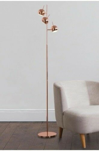 MADE. COM AUSTIN Floor lamp in Copper Rose gold NEW St Albans | in ...