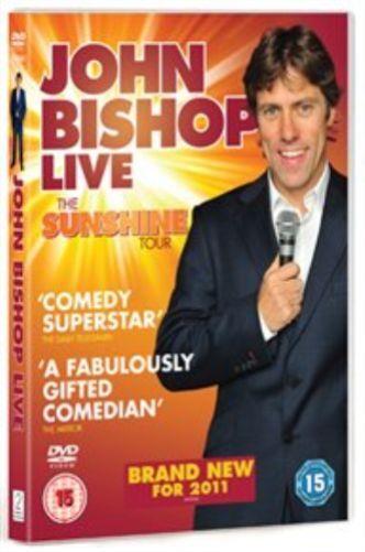 John Bishop: Live - The Sunshine Tour DVD NEW