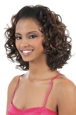 TIO-16 - MOTOWN TRESS 2 IN 1 HALF WIG & PONYTAIL SYNTHETIC CURLY HAIR ()