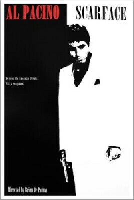 SCARFACE Al Pacino Movie Poster Import Reproduction  GANGSTER ART