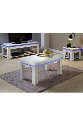 New High Gloss Led Coffee Table White In Oldham Manchester Gumtree