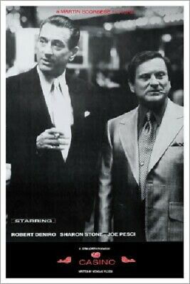 Casino Black & White Movie Poster 24 x 36 Al Pacino and Joe Pesci