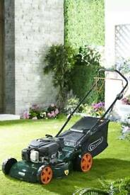Q Garden 46cm Petrol Powerdrive Mower