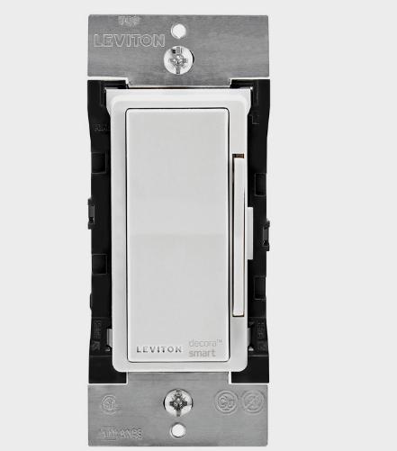 New!! LEVITON Decora Smart Apple Home WIRELESS LIGHT SWITCH 15A-120V DH6HD-RZ