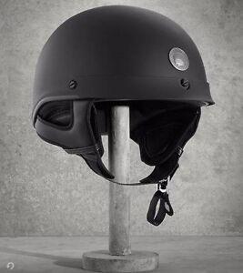 Harley Davidson Matte Black HD-J02 Helmet