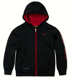 Nike-Boys-Just-Do-It-Therma-Fit-Full-Zip-Hoodie-Black-Red ...