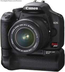 canon 450d with bg5 grip