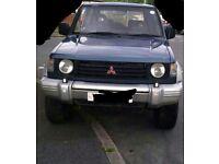 Mitsubishi shogun / pajero 2.5 td 4x4 automatic