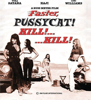 Faster Pussycat  Kill  Kill  Blu Ray Russ Meyer Cult Classic