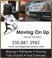 MOVING ON UP HOME SOLUTIONS *BBB Accredited * Free boxes*
