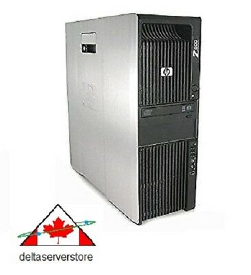 24 Logical Core HP Z600 2 x HEX Core Intel Xeon X5650 2.66Ghz 48Gb RAM 500Gb HDD for sale  Scarborough
