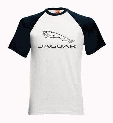 Baseball Kurzärmeliges T-Shirt mit MODERNE JAGUAR DESIGN -X Type XJ XK Sport XF