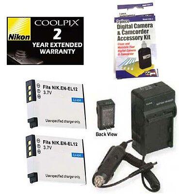 Accessory Kit For Nikon P300 S610 S620 S630 S640 S70 S6000 S6100 S6200 S8000