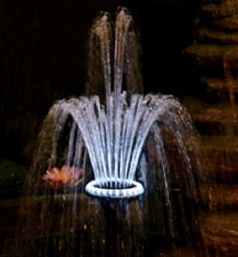 Pondmaster® LED Light Ring Kits with Fountain Heads
