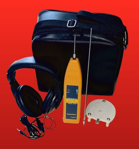 ELECTRONIC LEAK DETECTOR WATER - AIR - GAS w/ EXCLUSIVE SURFACE MICROPHONE