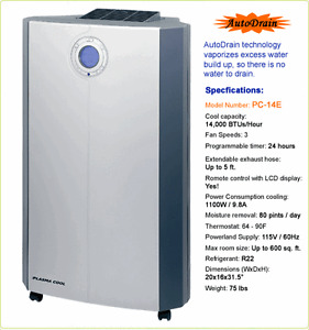 Portable Air Conditioner Kitchener / Waterloo Kitchener Area image 1
