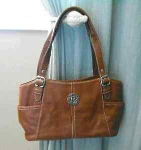 Relic genuine leather hand bag