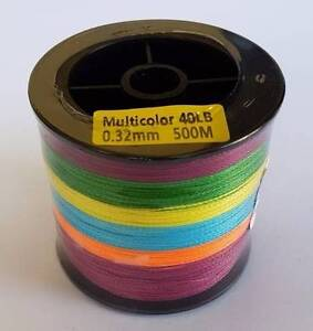 Braid Fishing Line 500mt available in 20,40,60,80,100lbs Glenorchy Glenorchy Area Preview