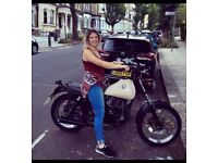 SINNIS TRACKSTAR 2014 125cc MOTORCYCLE