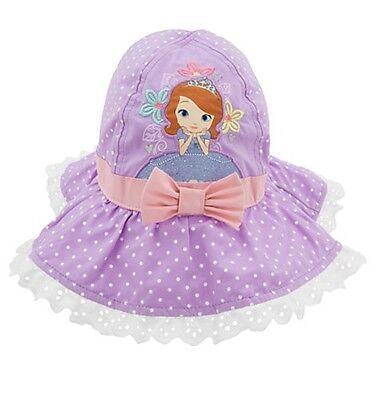 Disney Store Sofia the First Girls Swim Princess Hat Size M/L 6-10 Years NWT