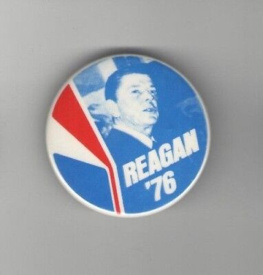 1976 pin Ronald REAGAN pinback ALSO Also RAN Lost to Gerald FORD Campaign button