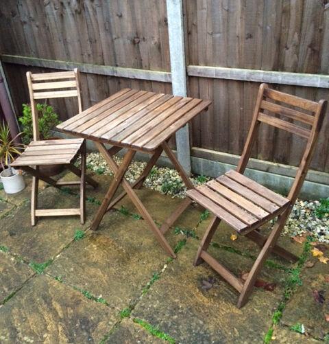Ikea askholmen  IKEA Askholmen garden table with 2 chairs | in Longfield, Kent ...