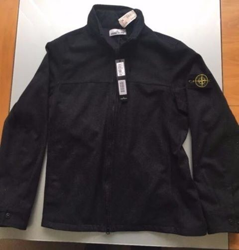 Stone island over shirt size large offers