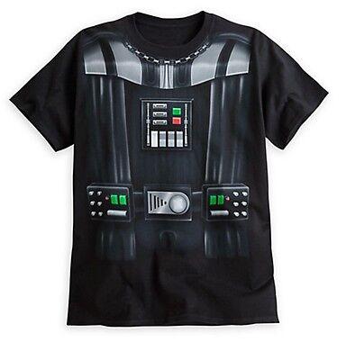 Disney Store Star Wars Darth Vader Mens Halloween Costume T Shirt  S XXL