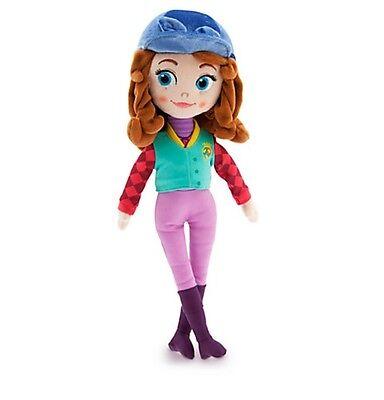 "Disney Store Princess Sofia the First Equestrian Horse Riding Plush Toy Doll 13"""