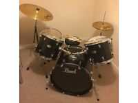 Pearl Forum Series Drum Kit - Excellent condition