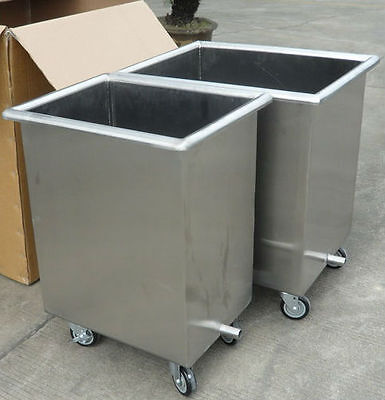 Stainless Steel Commercial Kitchen Hood Grease Filter Soak Clean Tank