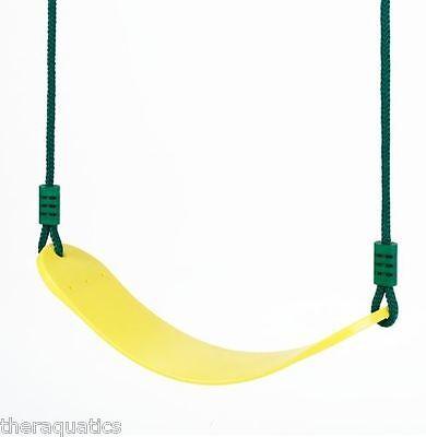 Swing-N-Slide Kids Playset SWING SEAT on Rope Chain Playground Equipment Adj NEW