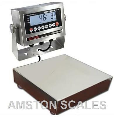 Stainless Steel 10x10 15 X 0.0005 Lb Digital Scale Shipping Food Warehouse New