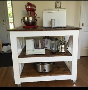 Rustic kitchen island/counter Kingston Kingston Area image 2