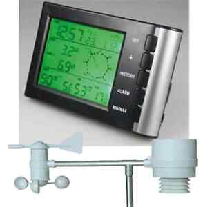 Digitale Funk Wetterstation CTW-600 Multifunktions Wetteranlage 50m Windmesser
