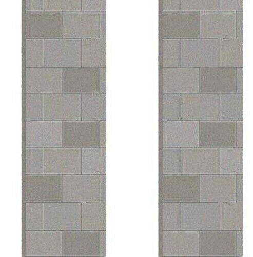 id Backscenes Building Material - OO Gauge Pavement - 10 sheets of A4 # BM071