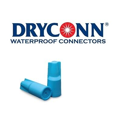 DryConn 10670 100 Pack Blue Waterproof Connector Silicone Filled King Innovation