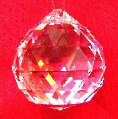 50mm Feng Shui Transparente Colgante Cristal Bola