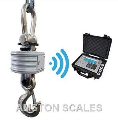 100000 X 20 Lb Digital Hanging Crane Scale Heavy-duty Overhead Wireless Shackle